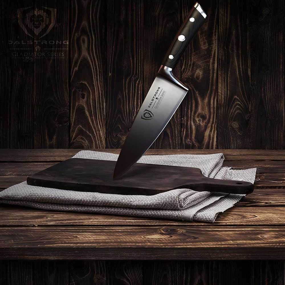4 DALSTRONG Chef Knife Gladiator Series